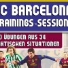 FC Barcelona Trainings-Sessions – 160 Übungen aus 34 taktischen Situationen