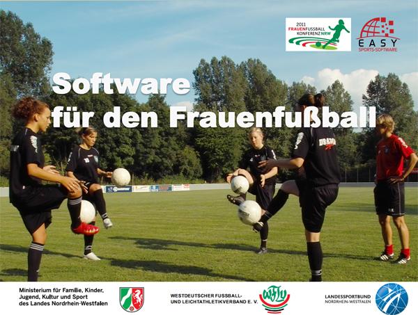 Fussballsoftware für den Frauenfußball