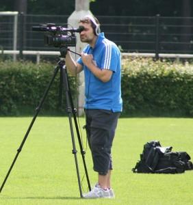 Fussballtraining DVDs- Kamera Oliver Schreiner