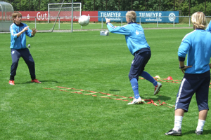 Torwarttraining Koordinationsleiter 1