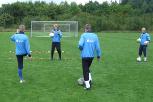 Torwarttraining Koordinationsleiter 2