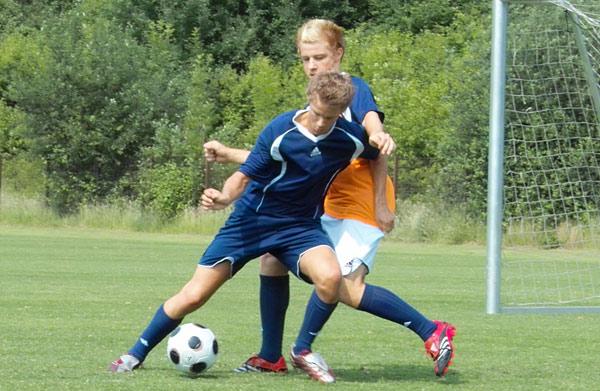 Dribbling unter Gegnerdruck