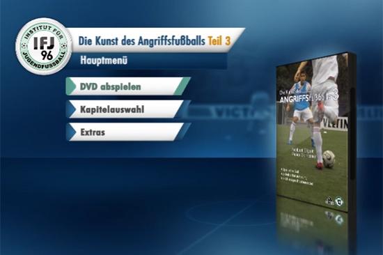 Fussball Training: DVD Angriffsfussball 3