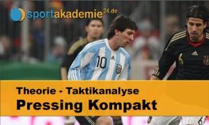 Fussball Taktik: Pressing Kompakt 1
