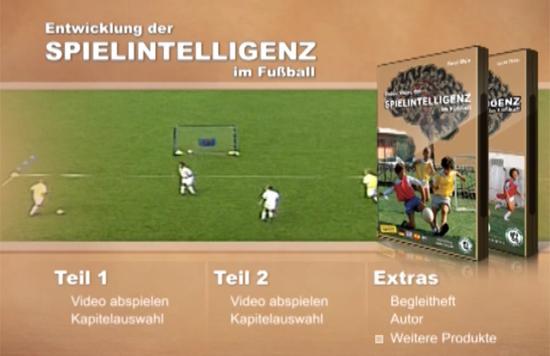 DVD Entwicklung der Spielintelligenz im Fußball