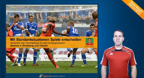 Freistoss Fussball - Standardsituationen - Freistosstricks
