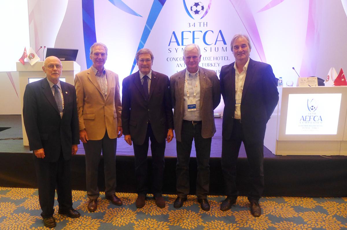 Peter Schreiner auf dem AEFCA Symposium 2013