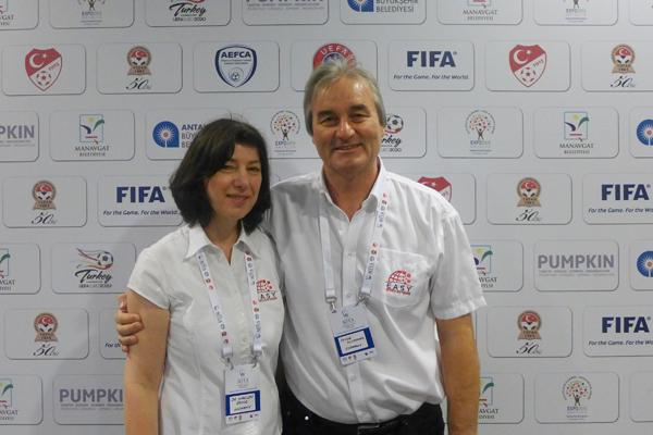 Dr. M. Becker-Richter andP. Schreiner - Founder of easy Sports-Software