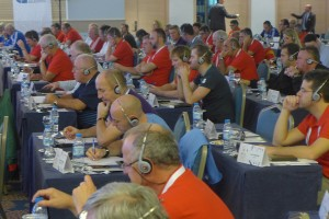More than 150 Deligates and Coaches at the 34. AEFCA Symposium 2013