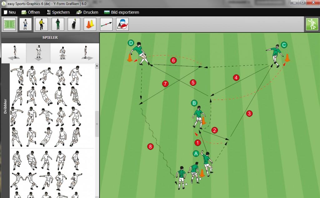Fußballsoftware easy Sports-Graphics 6 professional