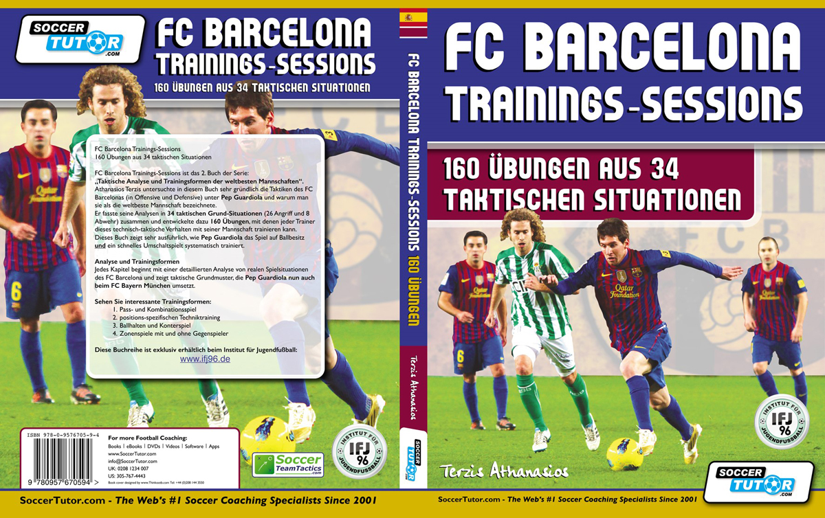 FC Barcelona Trainings-Session Deutsch