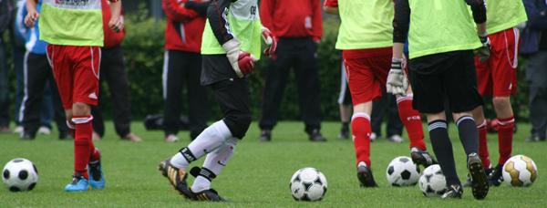 Fussball Training Dribbling