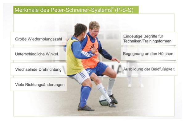 Peter Schreiner System -  Merkmale
