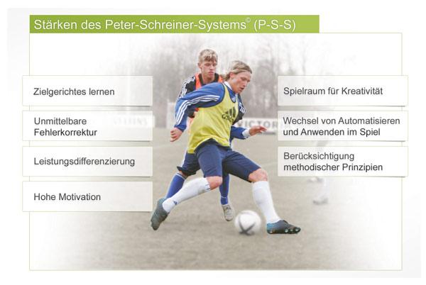 Stärken des Peter-Schreiner-Systems