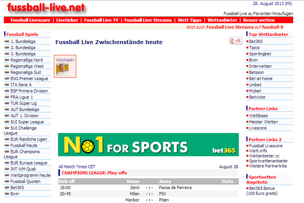 FuГџball-Live.Net