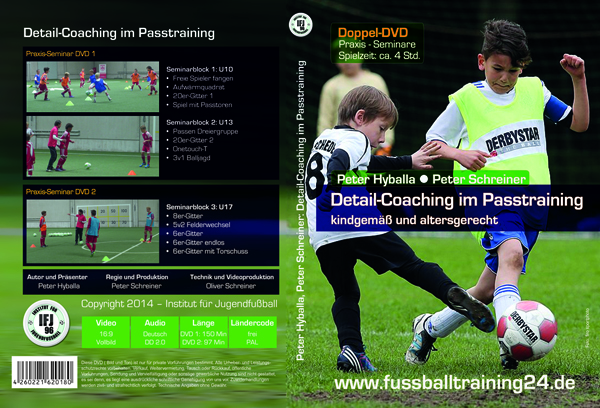 Cover zur Fussball DVD: Detail-Coaching im Passtraining