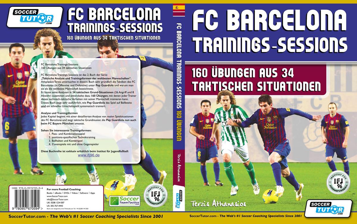 FC Barcelona Trainings-Session Deutsch